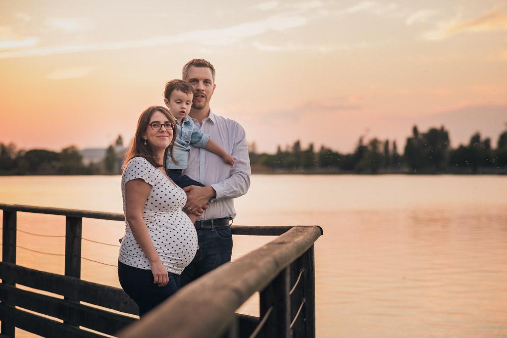 seance photo grossesse en famille à la Ramee Tournefeuille