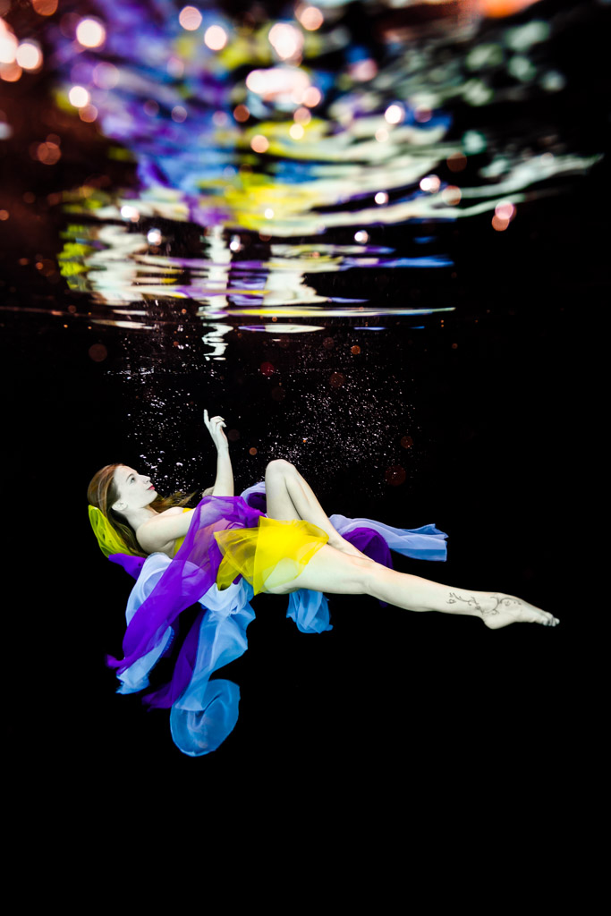 shooting photo femme underwater toulouse