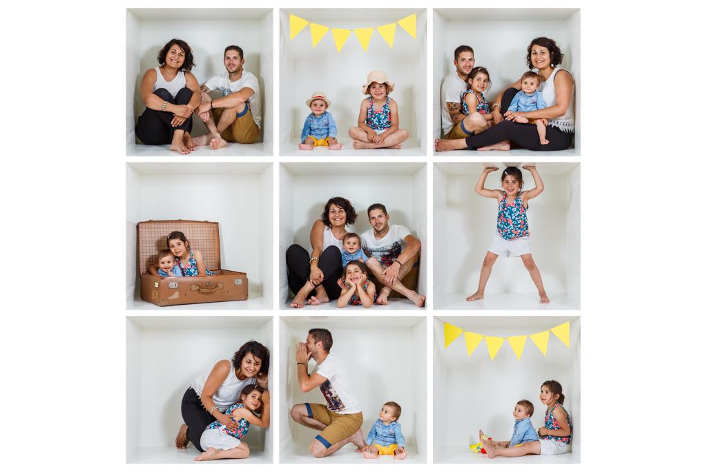 idee de photo de famille originale dans une boite Toulouse