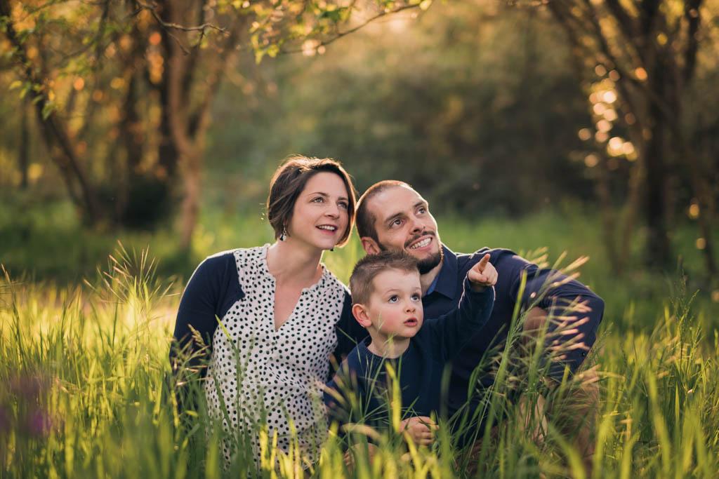 Séance photo famille et grossesse