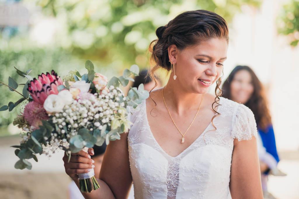photographe professionnel mariage toulouse bouquet mariee